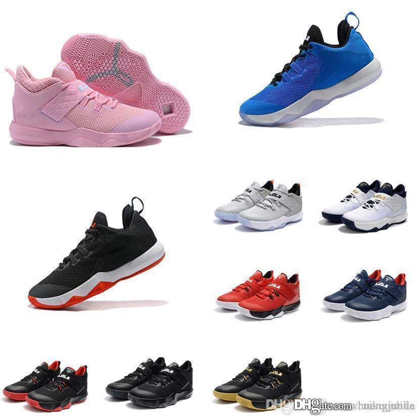 ff241eef812a1 2019 Cheap New Mens Lebron Ambassador 10 X Basketball Shoes Kay Yow Pink  Blue Black Red Gold Sneakers Boots For Sale From Huangjunda