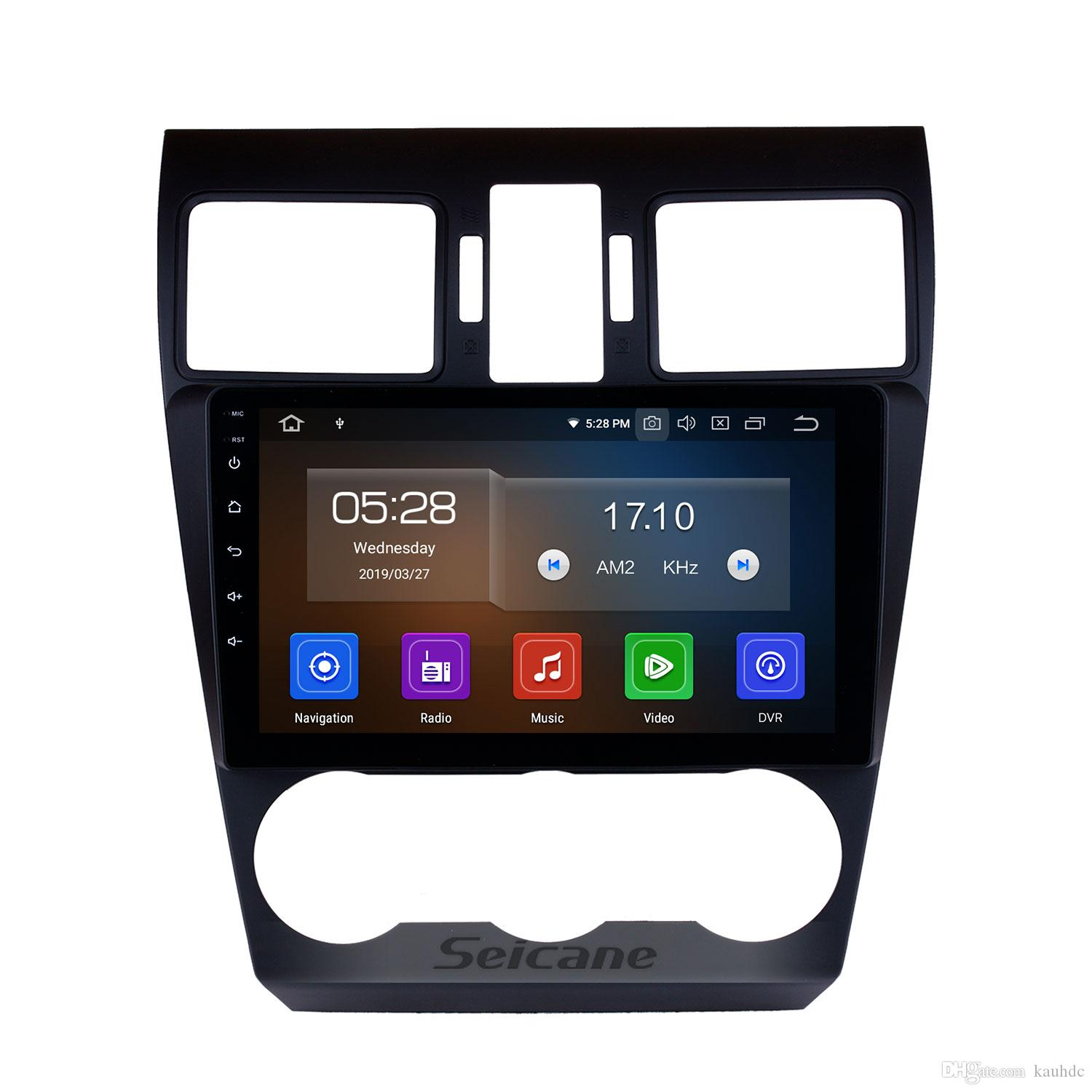 9 Inch Android 9 0 Car GPS Navigation System for 2014 2015 2016 Subaru  Forester with WIFI Bluetooth support Mirror link TPMS OBD car dvd 4G