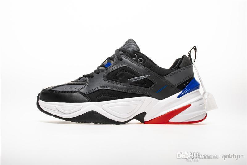 Zapatillas De Nike Av4789 Deporte Blancas M2k Tekno 004