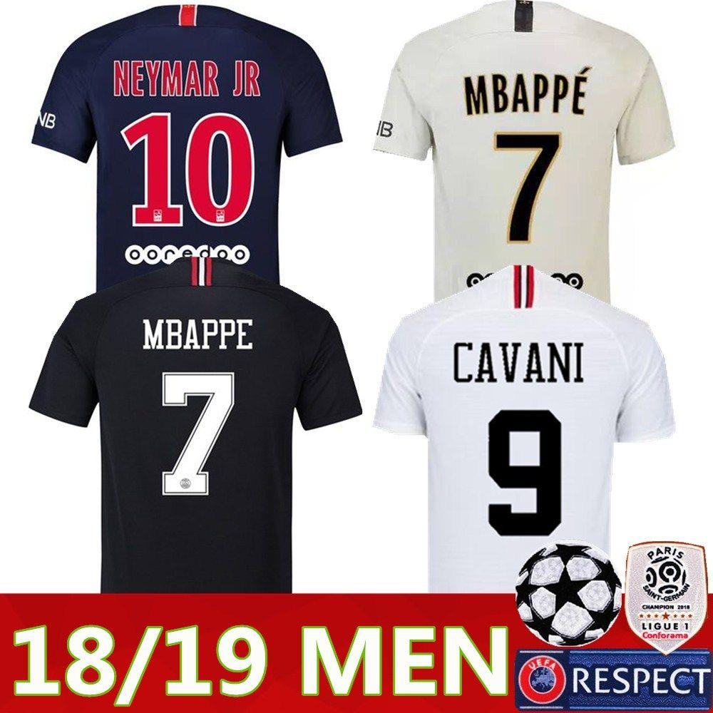 2019 2018 2019 PSG Third Maillot MBAPPE Soccer Jersey CAVANI VERRATTI Top  Thailand 18 19 Paris Football Shirt KIMPEMBE Camiseta De Futbol From  Tdsports 1c3d11a3f