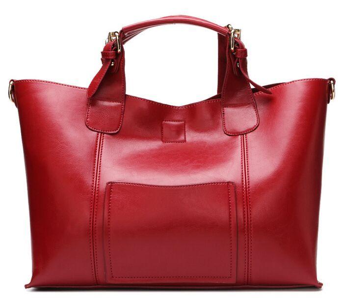 e16383bf1c7c 2018 Hot Sale Explosions Real Leather Handbags Europe And America Handbags  Women s Shoulder Bag Diagonal Package Women s Totes Bags Shoulder Bag  Messenger ...