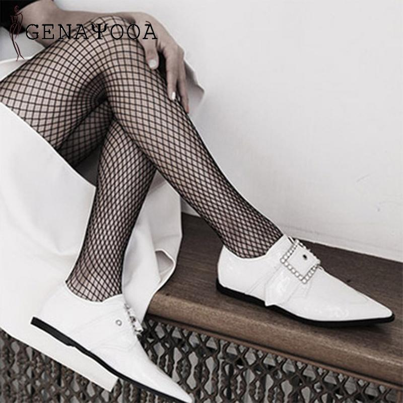 f47ff20e4 2019 Summer Hollow Out Sexy Pantyhose Women Tights Black Fishnet Stockings  Club Party Hosiery Female Mesh Stocking 2019 New Hot From Xiayuhe