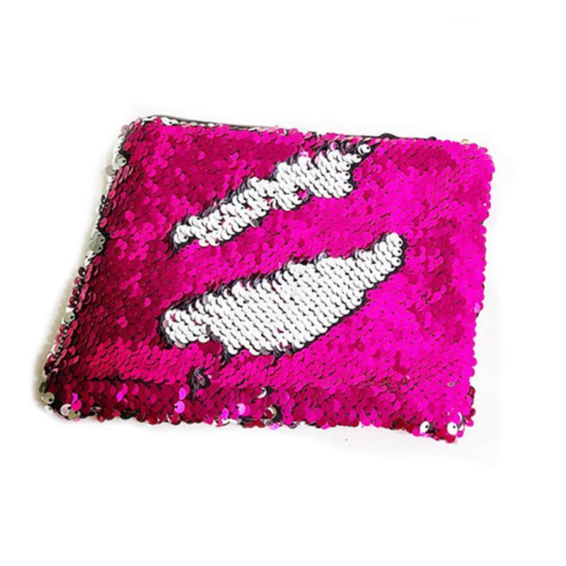 Günlük Stil Sıcak Satış Kadınlar Denizkızı Pullu Glitter Kozmetik Çantası Kalem Kutusu Tipi Makyaj Çantası Pullarda Polyester Çanta