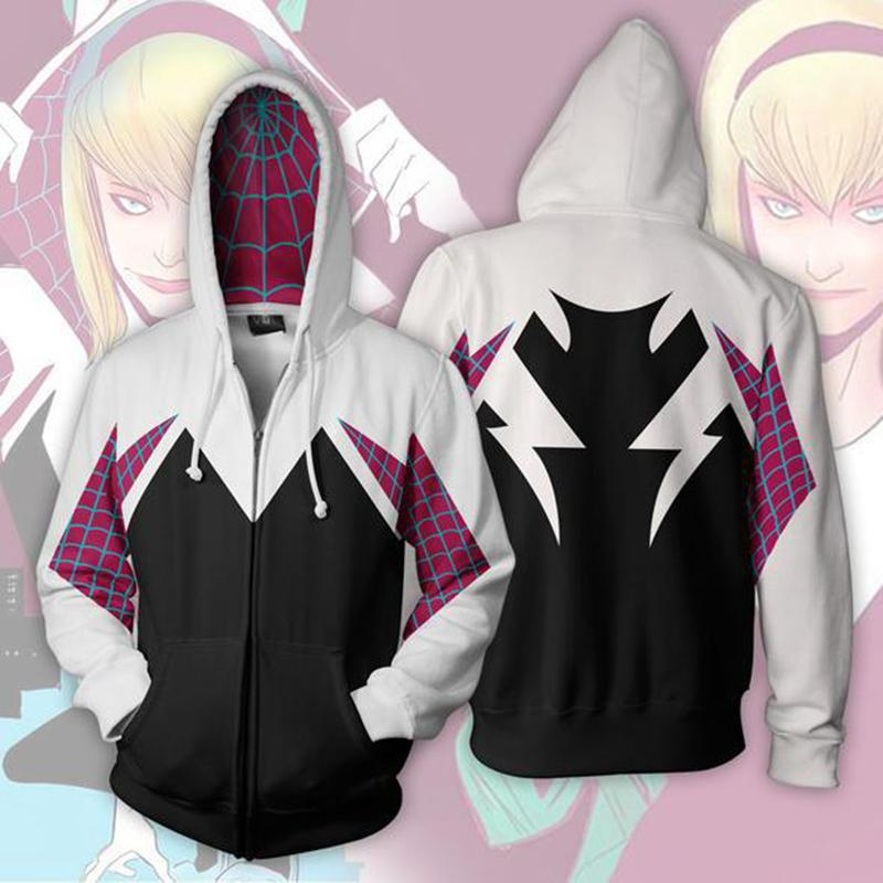 8f5a5ad06 Heap Hoodies & Sweatshirts 3D Printed Spider Gwen Stacy Spider ...