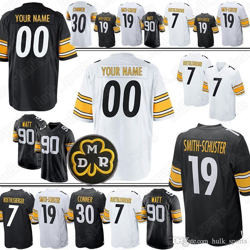 brand new 9e5fb b6859 84 Antonio Brown jersey Pittsburgh Custom Steeler jerseys 23 Joe Haden 83  Heath Miller 97 Cameron Heyward 75 Joe Greene 81 Jesse James