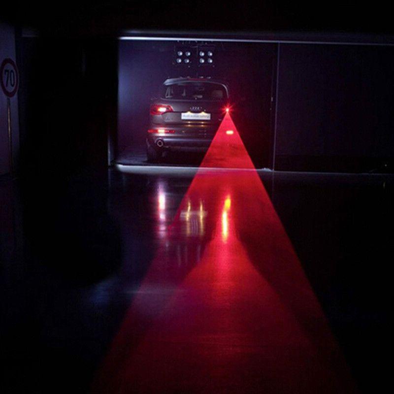 자동차 LED 레이저 안개등 차량 충돌 방지 테일 라이트 브레이크 경고 램프