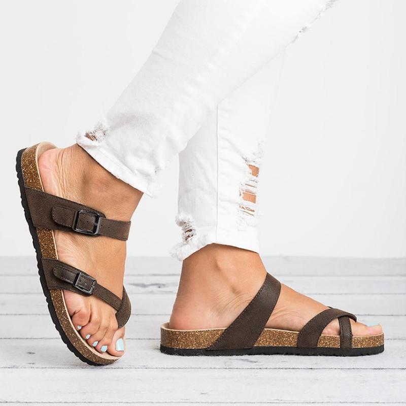 2019 Yaz Plaj Sandalet Kadın Düz Sandalet Slaytlar Chaussures Femme Takunya Artı Boyutu 43 Rahat Çevirme Ayakkabı Kadın WSH3314