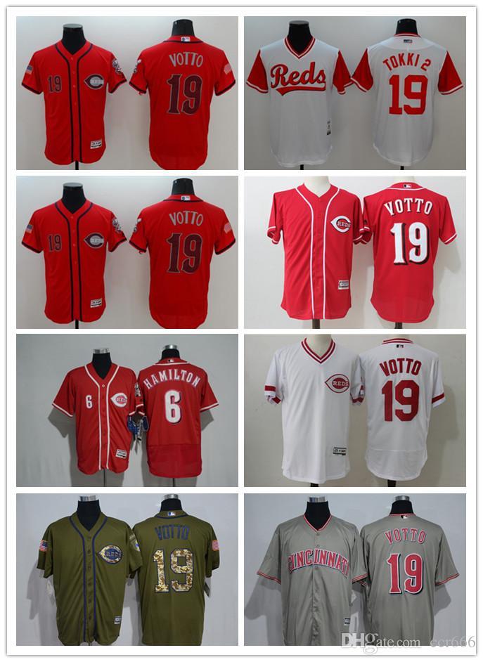 Custom Men s Women Youth Cincinnati Reds Jersey  6 Billy Hamilton 19 ... f7f95af84