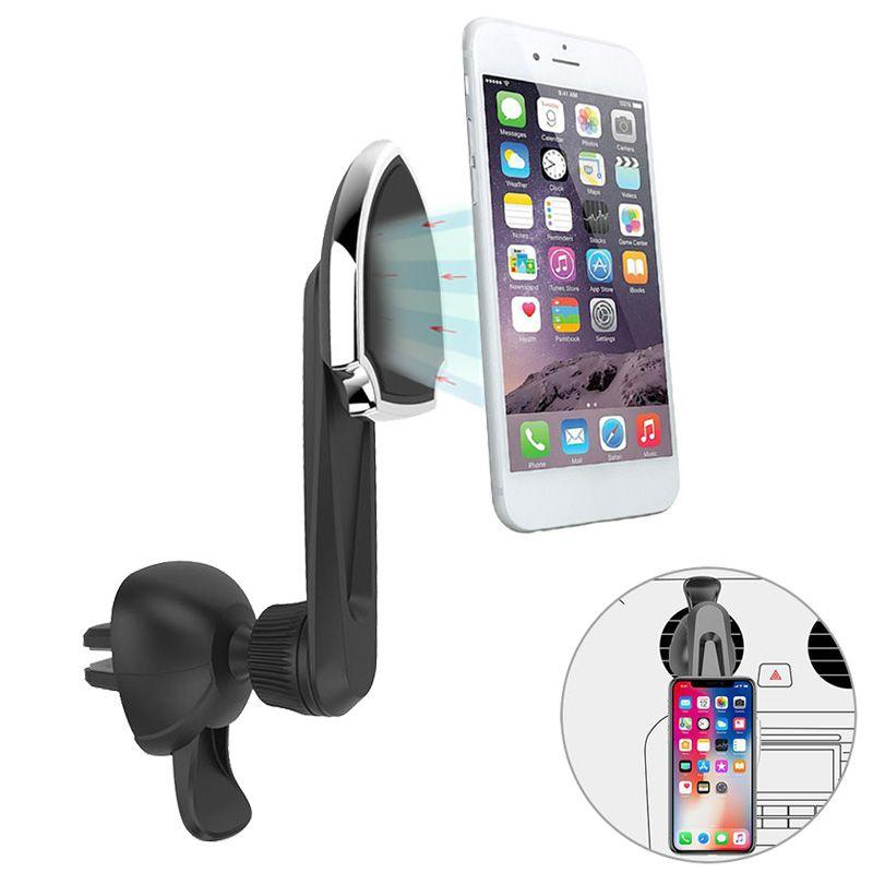 Just Magnetic Car Phone Holder Air Vent Mount Mobile Smartphone Stand Magnet Support Cell Cellphone Telephone Desk In Car Gps 2019 New Fashion Style Online Cellphones & Telecommunications Mobile Phone Accessories