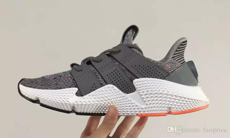 2e5a52f4038e2e 2019 Triple Black Men Mesh Knit Prophere Shoes Cheap Man Propheres Outdoors  Trainers Sneakers With Boxes Size US7 10 Hot Sale From Wszhfei