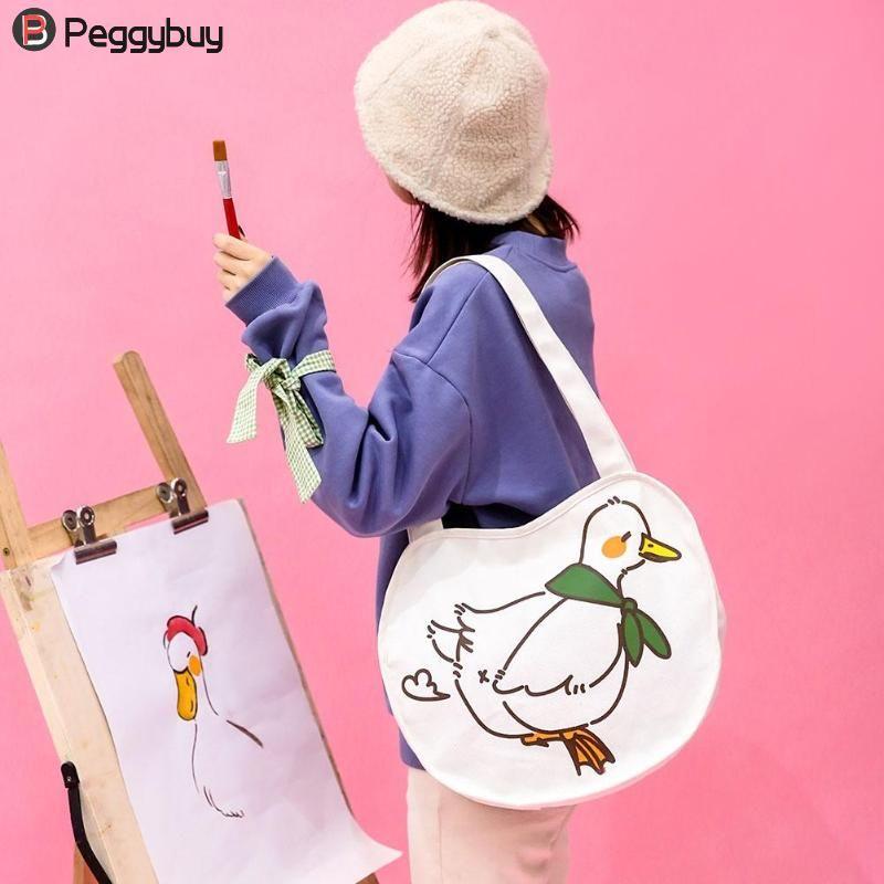 0208752079 Women Cute Canvas Shoulder Bag Casual Daily Temperament Eco Shopping Tote  Bags Beach Ladies Handbag Weekend Bags Luxury Bags From Lilychoo, $33.26|  DHgate.