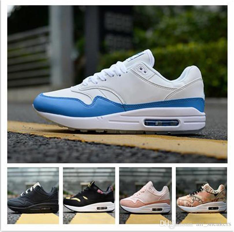 Nike air max 87 Venta al por mayor 87 Atmos 87 Aniversario 1 Piet Parra 87 Premium lunar 1 DELUXE WATERMELON zapatillas deportivas de calidad superior