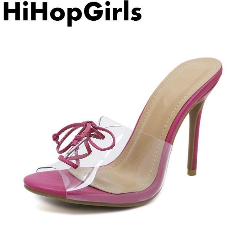 Dress Hihopgirls Summer Rome Pvc Transparent Pure Color Pumps Women Sandals  Sexy High Heels Fashion Cross Straps Peep Toe Woman Shoes Fashion Shoes  Cheap ... ddbbd30656ea