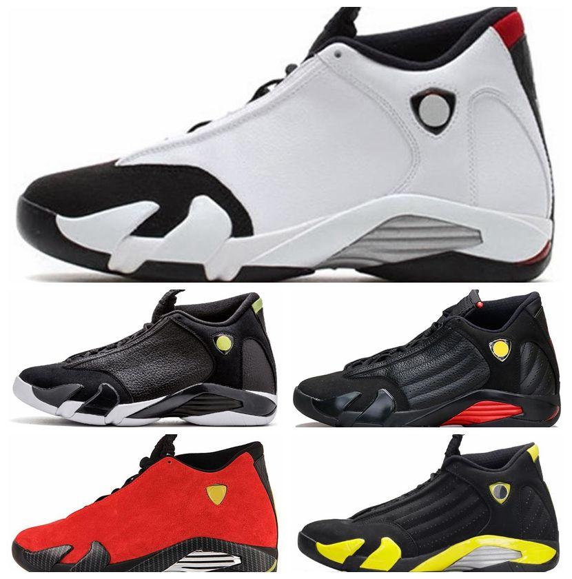 1e75b9b5d8d974 2019 Men Designer 14 14s The Last Shot Basketball Shoes Desert Sand DMP  Black Toe Red Thunder Mens Sports Trainers Sneakers Size 41 47 From  Outdooreu