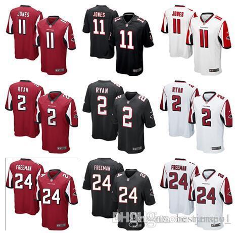 2018 Mens Womens Kids Atlanta Falcons  11 Julio Jones 2 Matt Ryan Jersey  Men 24 Devonta Freeman Football Youth Jerseys From Rampo1 8695a4a30