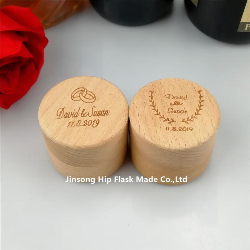 3f12433f82 2019 Custom Ring Box, Personalized Wedding / Valentines Engagement Wooden  Ring Bearer Box, Rustic Wedding Ring Box Holder From Jinsonghipflaskmade,  ...