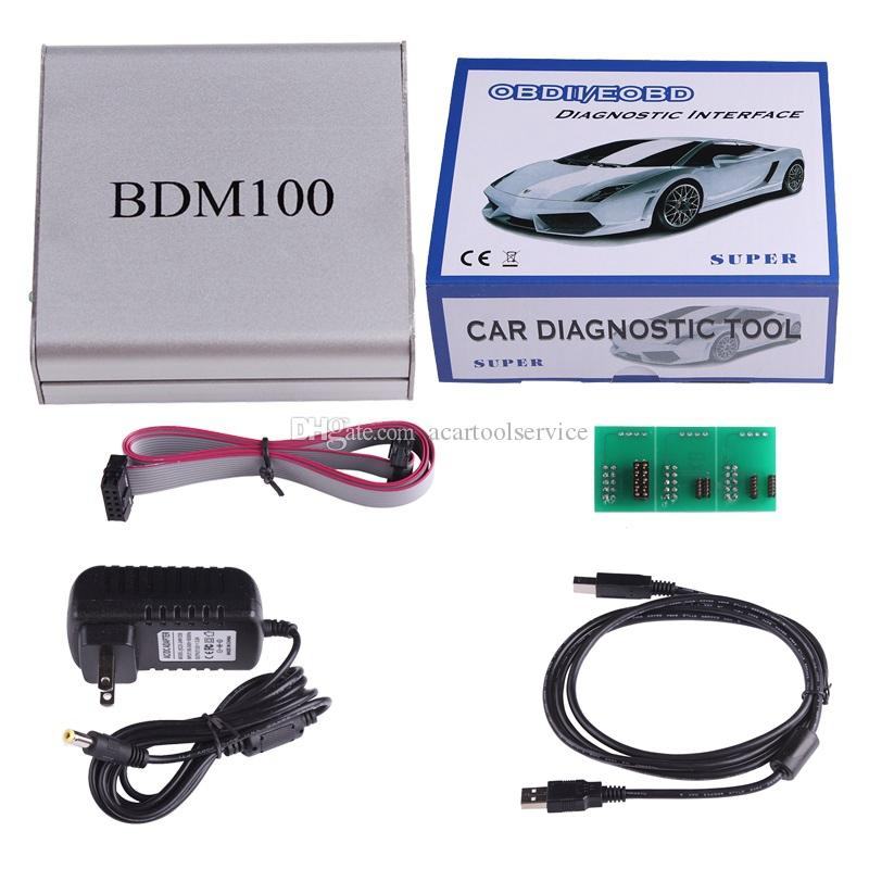ACT USB BDM 100 V1255 OBD2 ECU Programmer BDM100 Code Reader Remapping ECU Chip Tuning Diagnostic Tool Drop Shipping Wholesale