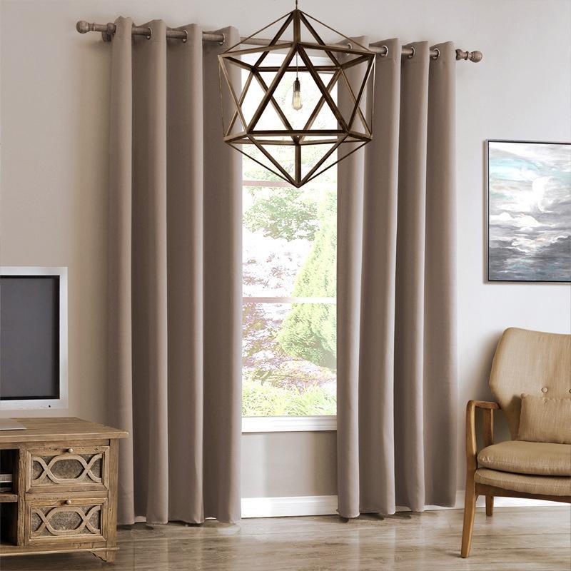 Tenda oscurante moderna per soggiorno Finestra Tende per camera da letto  Tende Tessuti Ready Made Tende finite Tende Tend