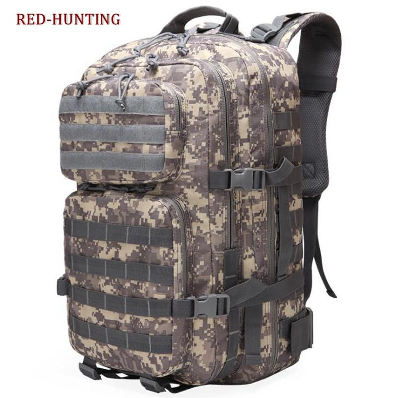 15f0cf5bb 2018 Men Women Outdoor Army Tactical Backpack Trekking Sport Travel  Rucksacks Camping Hiking Trekking Camouflage Bag Osprey Backpacks Book Bags  From ...