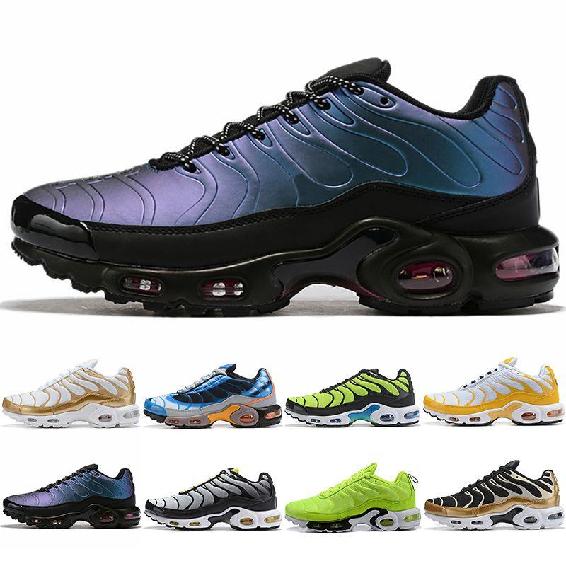 Nike Air Max Plus System Hombre Mujer Deporte Zapatillas de deporte Triple Negro Blanco Azul Pod S3.1 Tenis Moda Zapatillas de deporte Zapatillas de