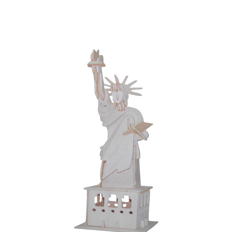 f0b42d4a226131 2019 Best Selling Rivers And Lakes Spread Goods Four Brands Wooden Three  Dimensional Assembled Model United States Statue Of Liberty Wholesale From  Mahaitao ...