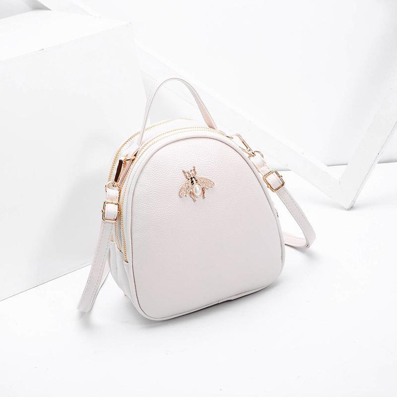 2019 Fashion Luxury Handbags Women Bags Designer Ladies  High Quality PU  Leather Bag For Women 2018 Fashion Bee Decoration Famous Brands Cute Purses  Rosetti ... dfe4065b4acc0