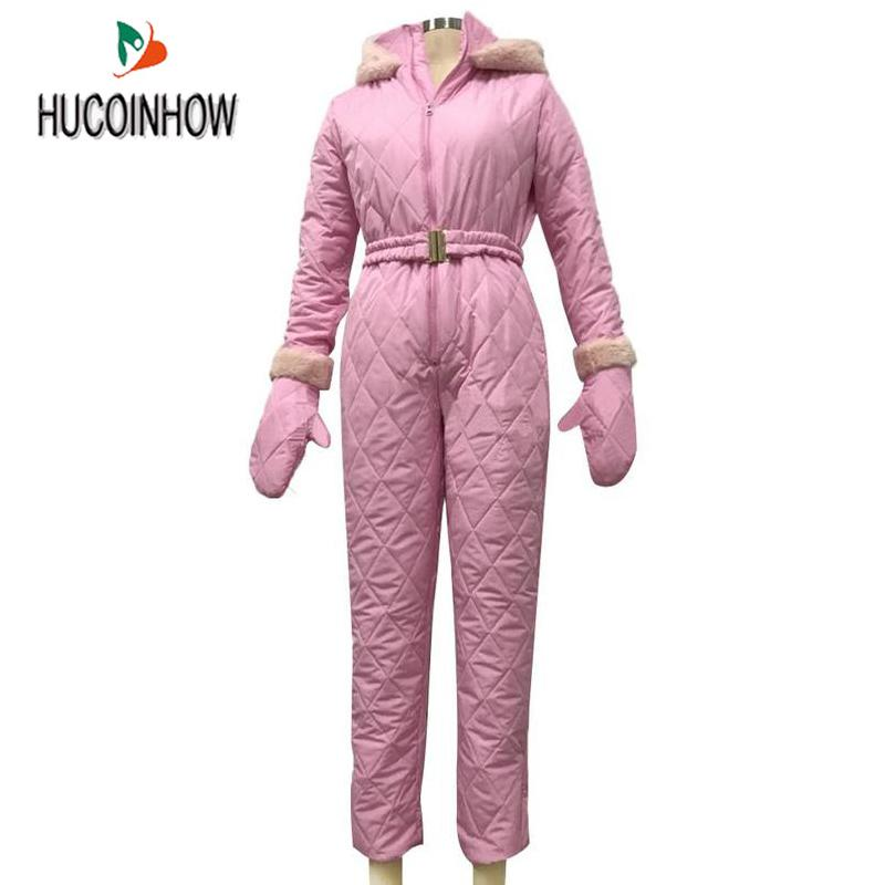 NEWLY Women Jumpsuit Breathable Snowboard Jacket Skiing Suits Pant Sets Warm Bodysuits Outdoor Snow Suits S-XXXL