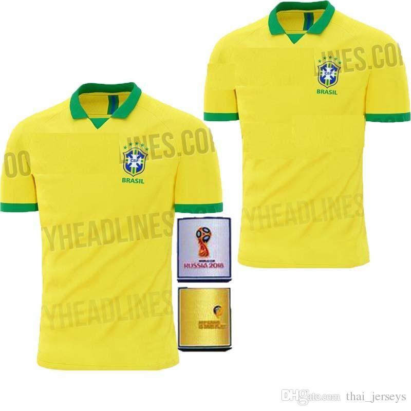 Best World Cup Kits 2020 AAA+ Top Quality 2019 2020 World Cup Brasil Soccer Jerseys Men