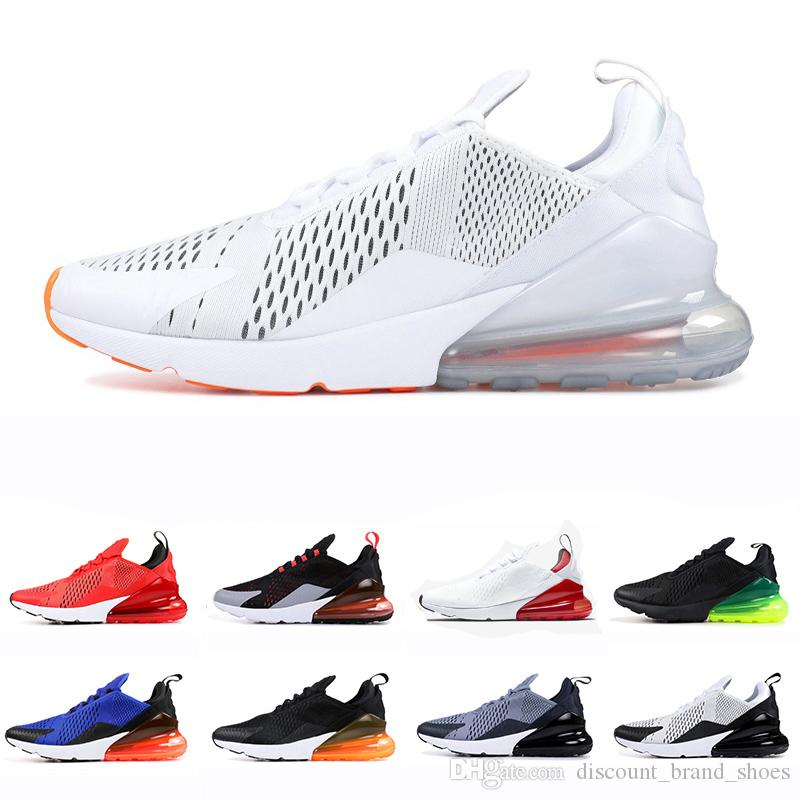 3f7b24fd79 Newest 270 Shoes Men Running Shoes 270s Total Orange University Red ...