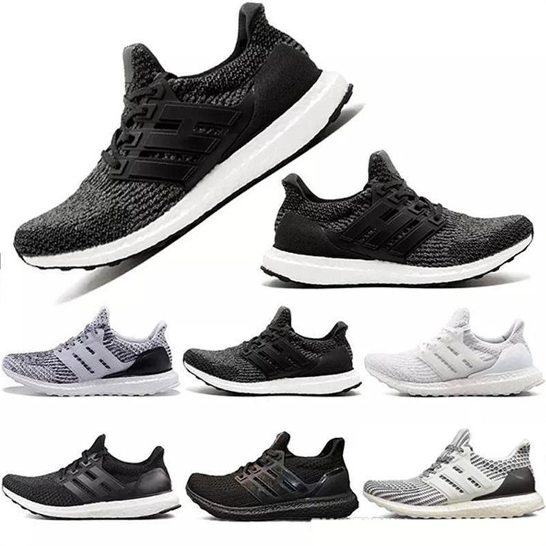 New Wholesale Ultra 4.0 3.0 Triple White black CNY grey Men Women Running Shoes sport fashion luxury mens women designer sandals shoes