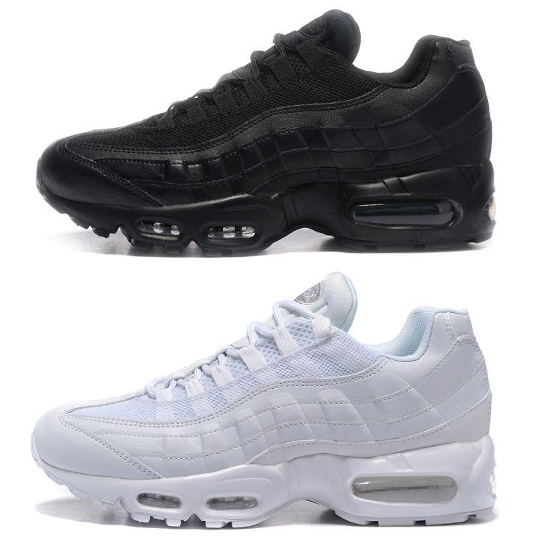 Classic 95 OG Tripel White Black Mens Women Running Shoes 95 Cushion M95 GS  Authentic Sports 95s Boots Primeknit Sneakers Size 36 46 Running Shoes Men  ... c92a2c5ed