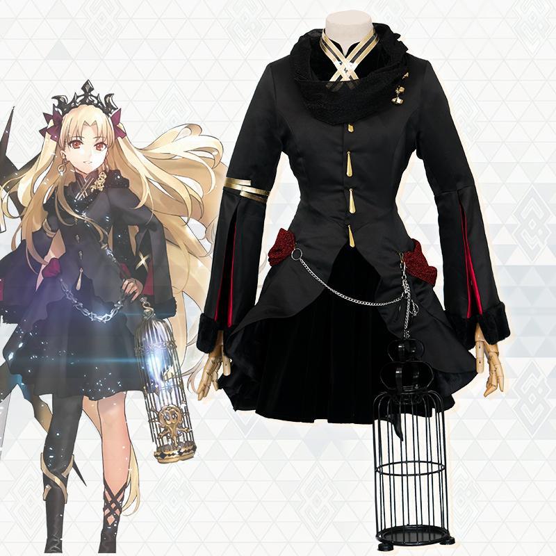 de57f0b43f7b0 Satın Al Samanyolu Anime Kader Grand Sipariş Lancer Ereshkigal FGO Cosplay  Custume Elbise Cadılar Bayramı Kostüm Kafes Ve Küpe Ile, $102.8 |  DHgate.Com'da