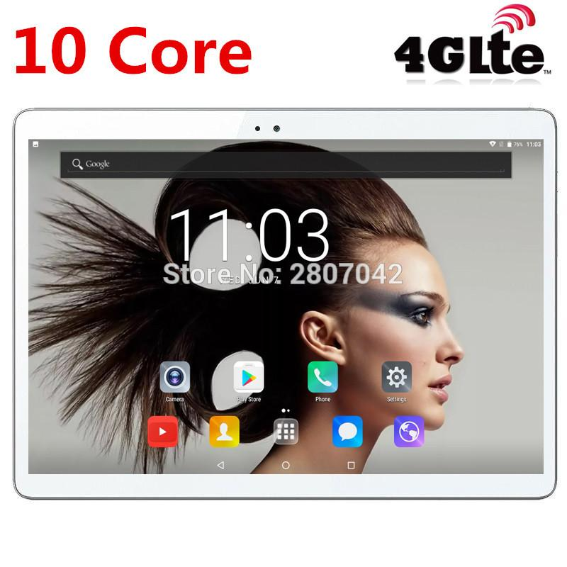 2019 Google Android 7.0 OS 10 inch tablet 4G FDD LTE 10 Core 4GB RAM 64GB ROM 1920*1200 IPS Kids Gift Tablets 10.1