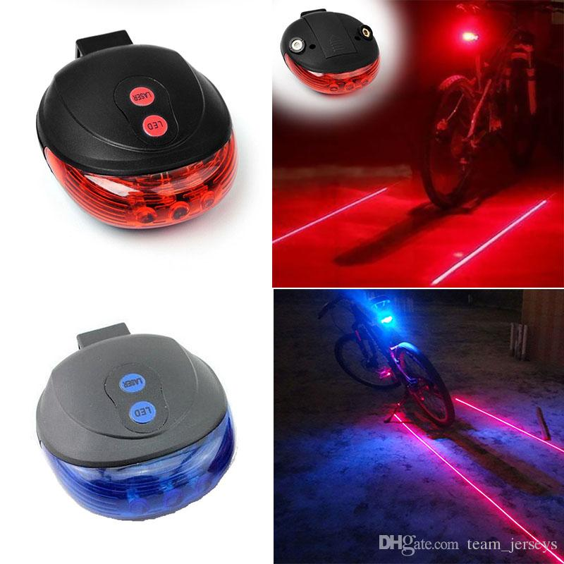 5d7aecc44fb00b 2019 Bicycle Laser Light Rear Taillight LED Parallel Line Lights Night  Safety Warning Light Mountain Bike Decorative Tail Light W/ Mount Holder  From ...
