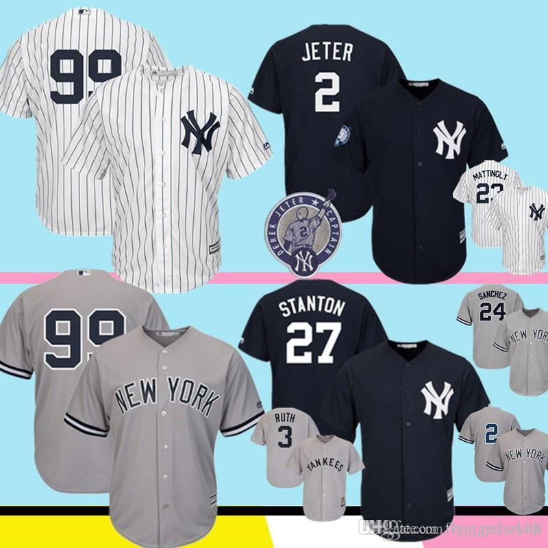 reputable site 4af9d 454f7 New York 99 Yankees Aaron Judge Majestic Navy Fashion Official White Gray  Cool Base Player Replica Jersey 99 2 27 23 24 M-XXXL