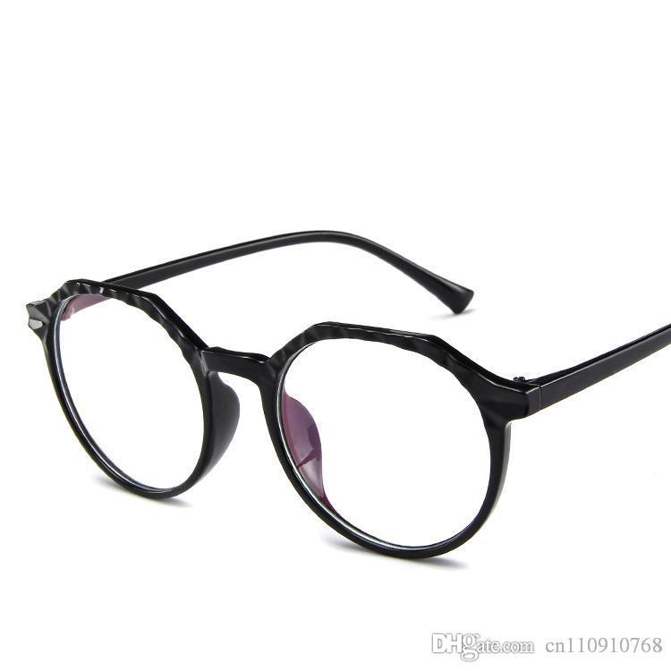 31b42dff9b8 2019 Designer Steampunk Eyeglasses Glasses Plastic Men Cat 4 Eyewear Half  Round PC Real Cheap Price VH13 Eyewear From Cn110910768, $3.8 | DHgate.Com