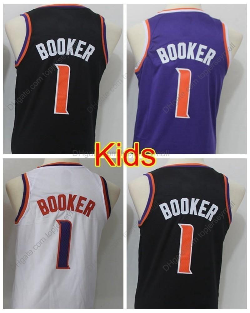 reputable site 42427 643d3 devin booker black jersey