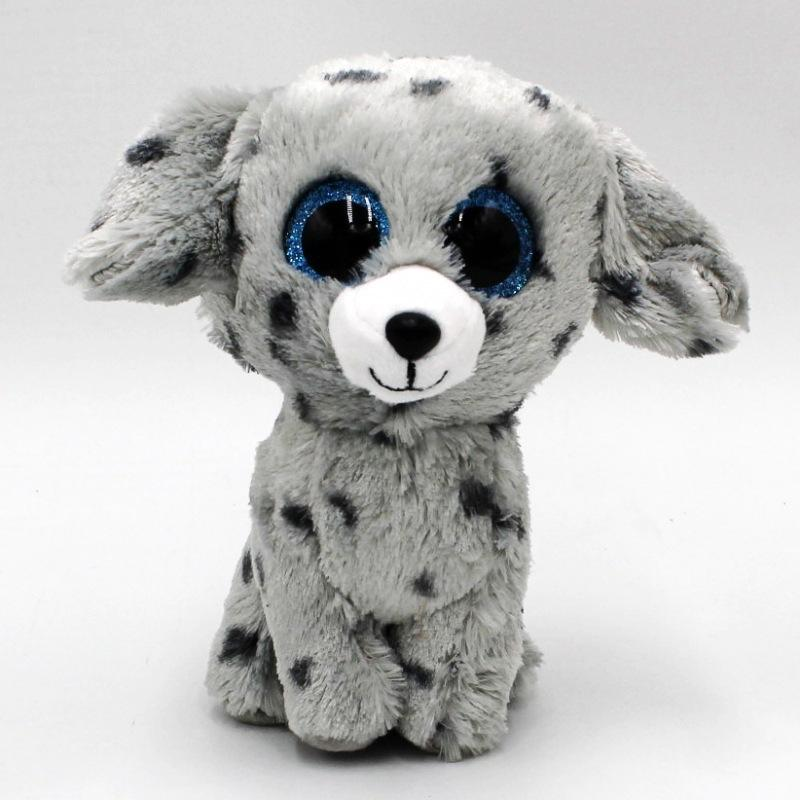 TY Beanie Boos 6 15cm Black   Dog Plush Beanie Babies Stuffed Animal  Collectible Soft Big Eyes Plush Doll Toy UK 2019 From Sightly bc5b8fd2483