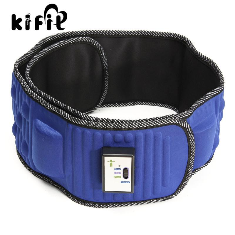 KIFIT Convenient Electric Lose Weight Fitness Massage Belt Abdominal Tummy Slimming Belly Burner Health Beauty Tool Y181122
