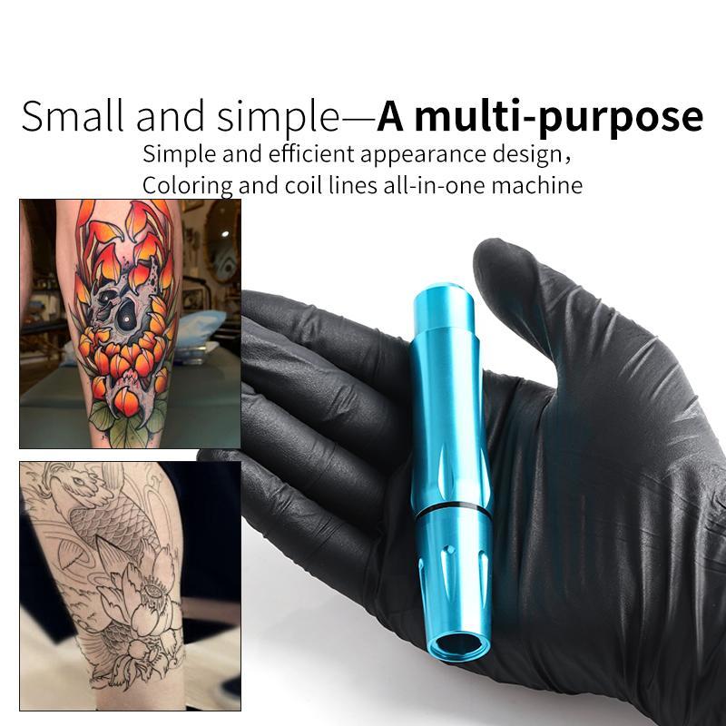 Premium-Qualitäts-Tätowierung-Feder mit bester Motor-Tätowierung-Drehmaschine für Cartridge-Nadeln Tattoo Supplies für freies Verschiffen