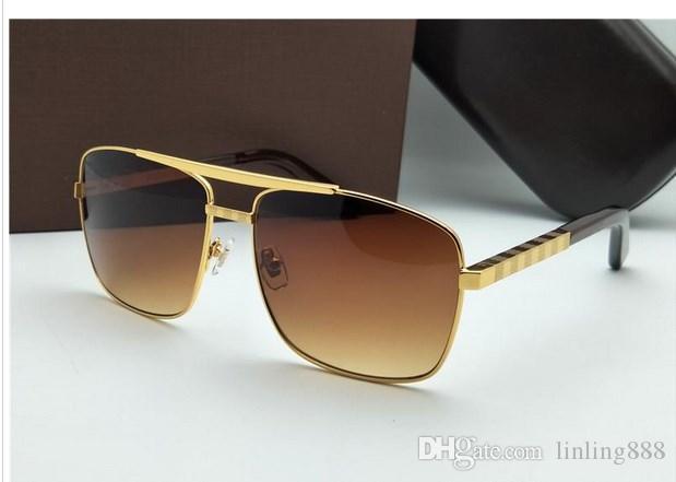 3c81260cbc Compre Nueva Moda Gafas De Sol Clásicas Actitud Gafas De Sol Marco ...