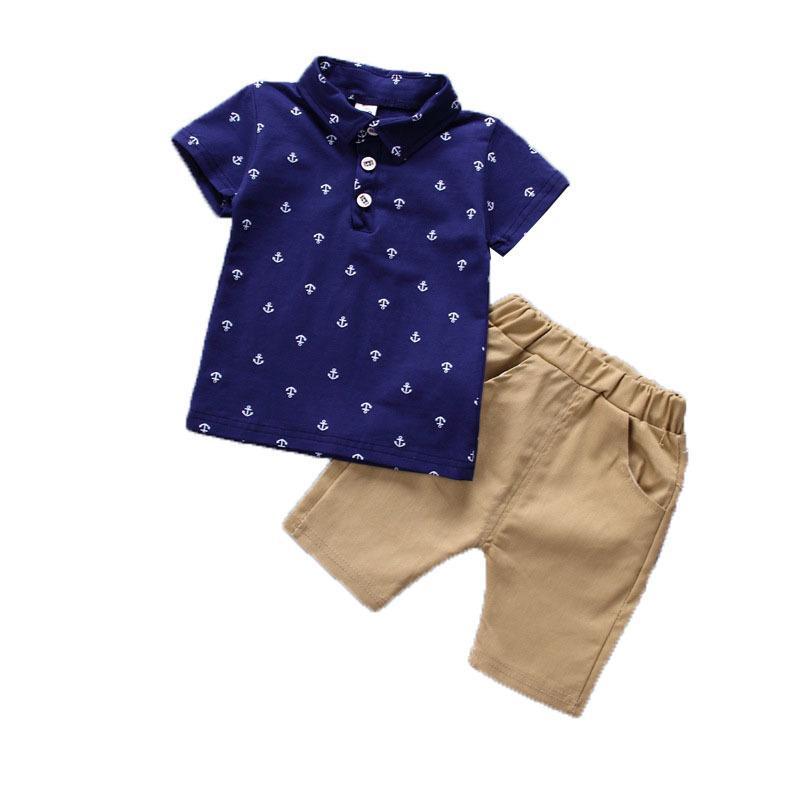72b1f2d60 2019 BibiCola Summer Baby Boy Clothing Sets Boys Clothes Sets Printed Tops+ Shorts Pants Infant Clothing Kids Boys Tracksuit Set From Cynthia05, ...