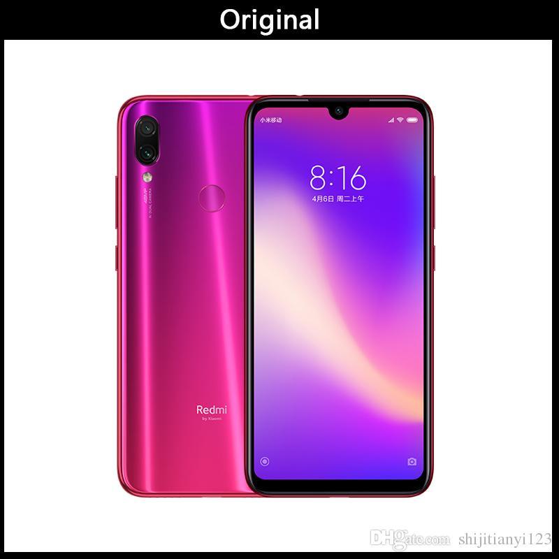 DHL Xiaomi Redmi Note 7 Pro 6GB 128GB teléfono Snapdragon 675 Octa Core  4000 mAh 6,3 gota de agua pantalla Completa 48+13MP teléfono inteli