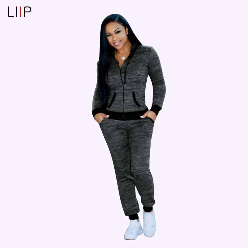 fa34c2298ca37 2019 Casual Tracksuit Women Pants Set Two Piece Women Set Zaful Shein  Outfits For Sets Clothes 3381 From Luiyer