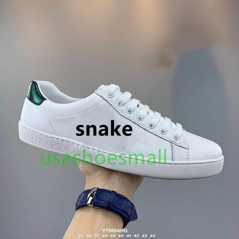 Hot! 2019 Withbox classic casual shoes, high end designer shoes for both men and women, tiger, bee, snake, dog, white shoes size 36 46