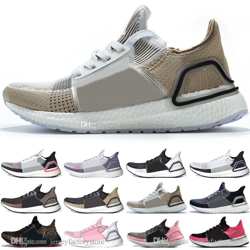 classic fit 83345 bd5f6 Sale 2019 Ultra Boost 19 Laser Red Refract Oreo mens running shoes for men  Women UltraBoost UB 5.0 Rainbow Sports Sneakers Designer Trainers
