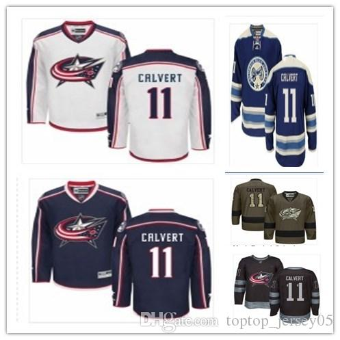 2019 Columbus Blue Jackets Jerseys  11 Matt Calvert Jerseys  Men WOMEN YOUTH Men S Baseball Jersey Majestic Stitched Professional  Sportswear From ... 64d6f3bded6