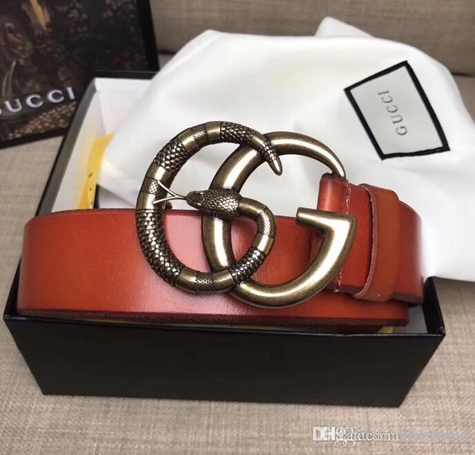 1ae5b0e1b34 2018 Hot Fashion Gem Buckle Belts for Men Women Genuine Leather ...