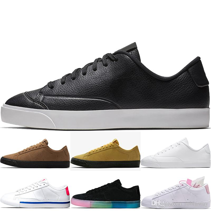 181bb8b59275 High Quality Top Fashion SB Suede Sports Shoes Wmns Low LE Leather ...