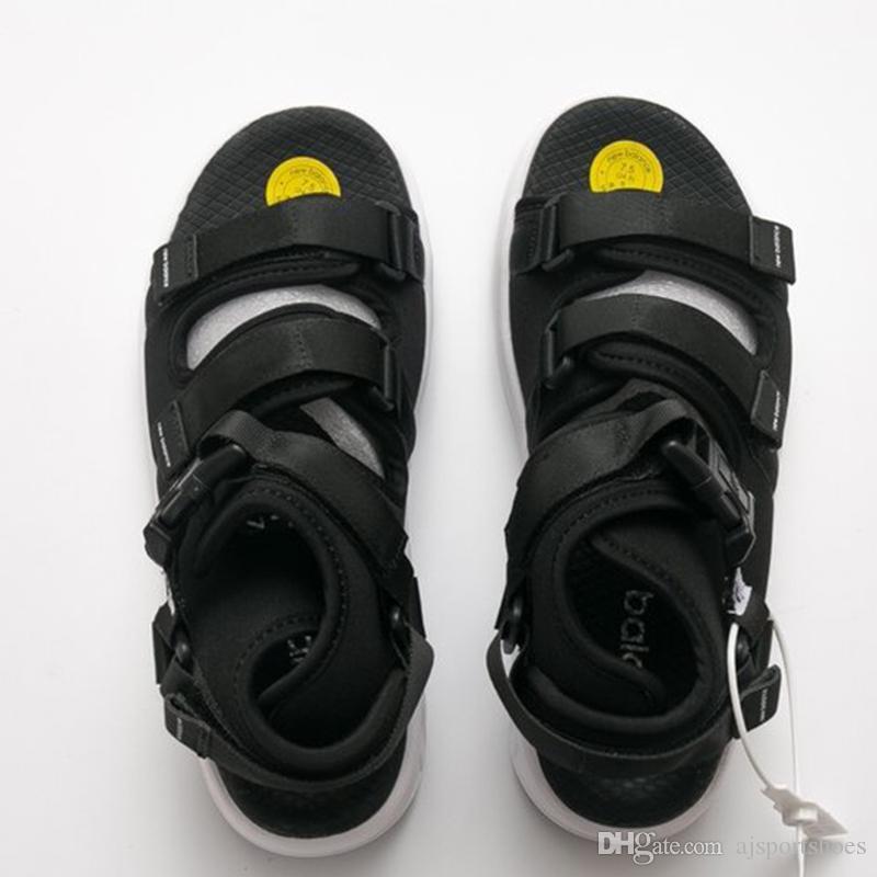 9636427d199 New Luxury Brand Designer Balance Men s Sandals Slides Black Bangles ...